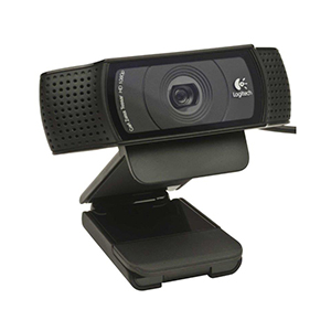 Webcam Full Hd 1080P Logitech C920 Microfone